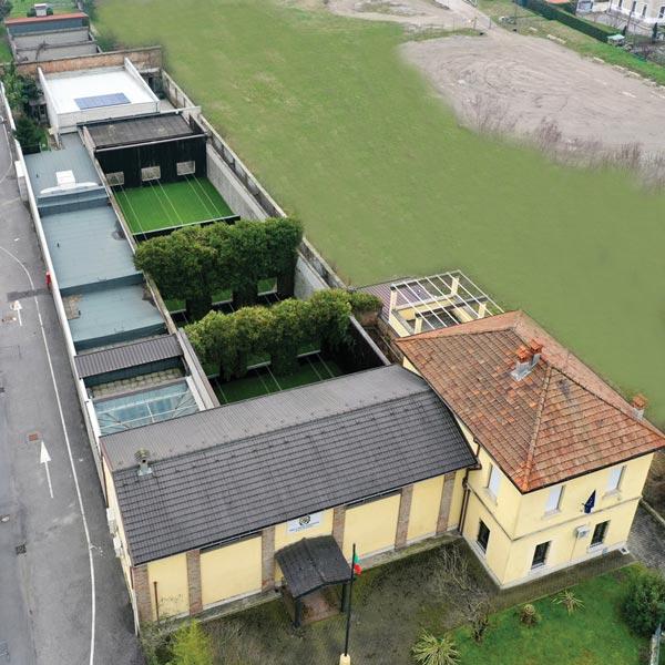 T.S.N. Treviglio / Struttura / Struttura - vista drone