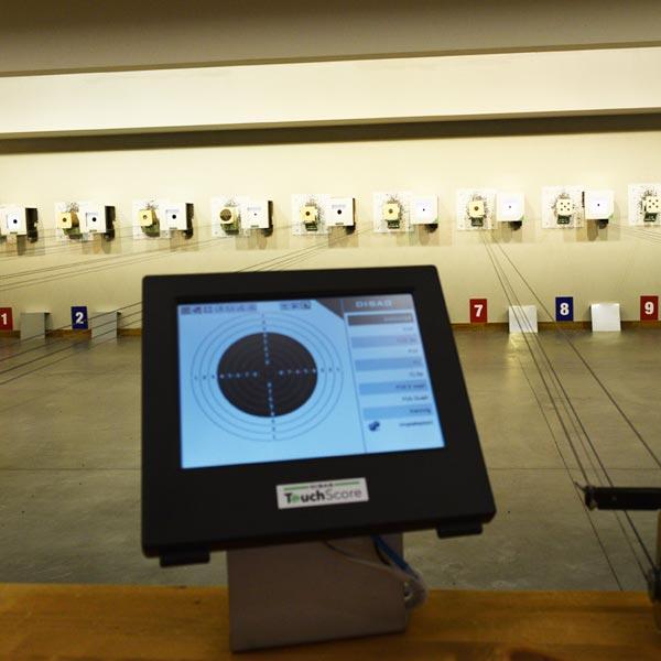 T.S.N. Treviglio / Struttura / Poligono per armi ad aria compressa con 10 linee automatizzate 2