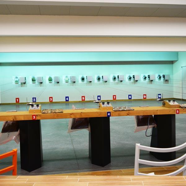 T.S.N. Treviglio / Struttura / Poligono per armi ad aria compressa con 10 linee automatizzate 4