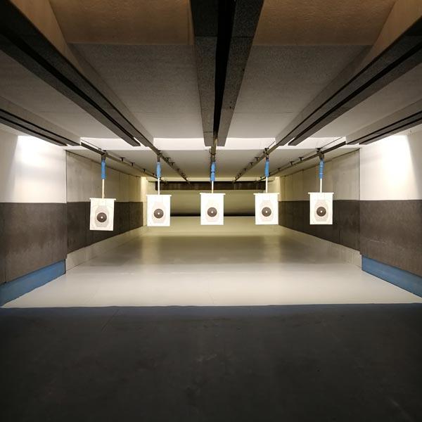 T.S.N. Treviglio / Struttura / Poligono in galleria a mt. 10 o 25 per armi corte di grosso calibro con 5 linee automatizzate 4