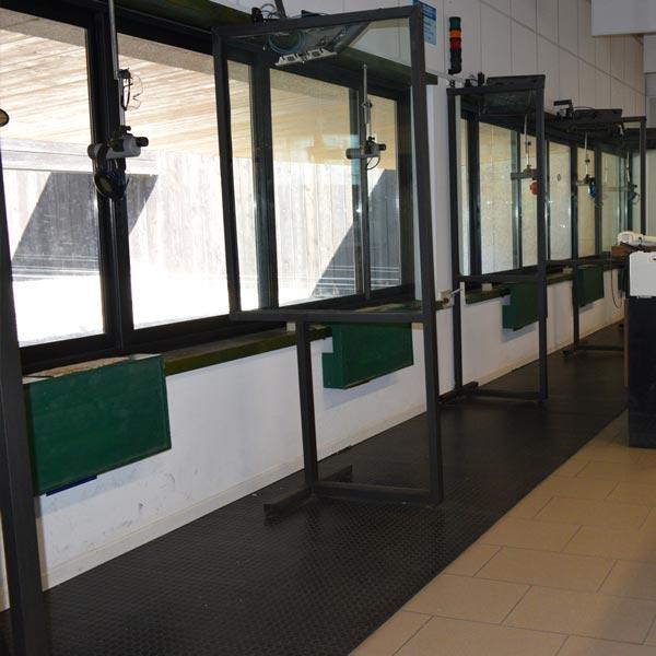 T.S.N. Treviglio / Struttura / Poligono a mt. 50 per Carabina e Pistola Libera cal. 22 l.r. con 6 linee automatizzate 1